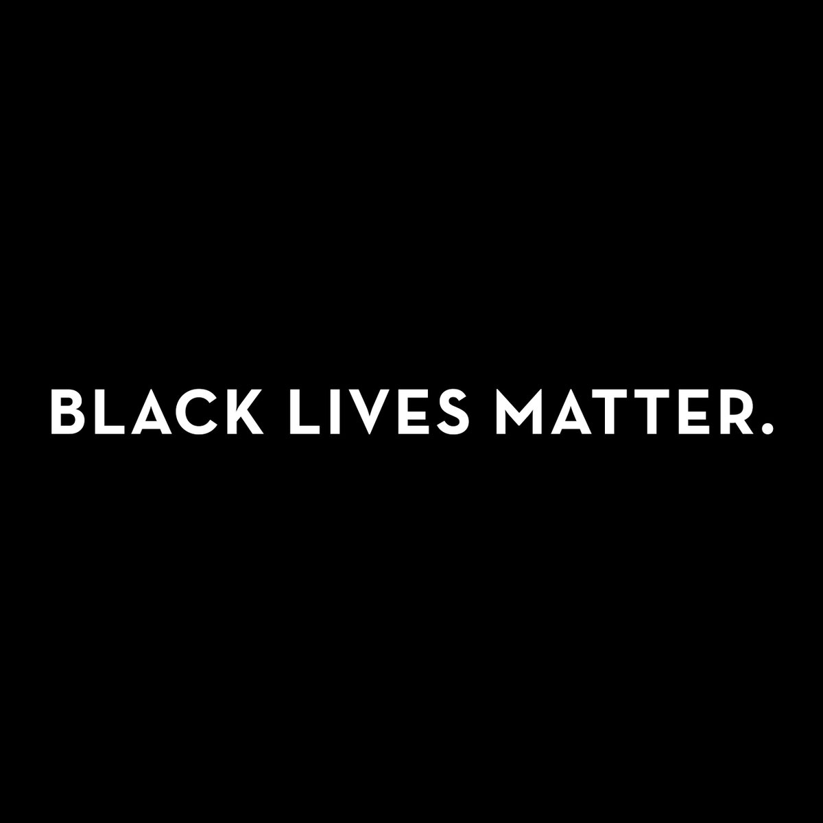 We believe that Black lives matter. We stand and support those in our community and beyond who seek justice and demand equality. Please join us in donating to the @BKBailFund and @mnfreedomfund.