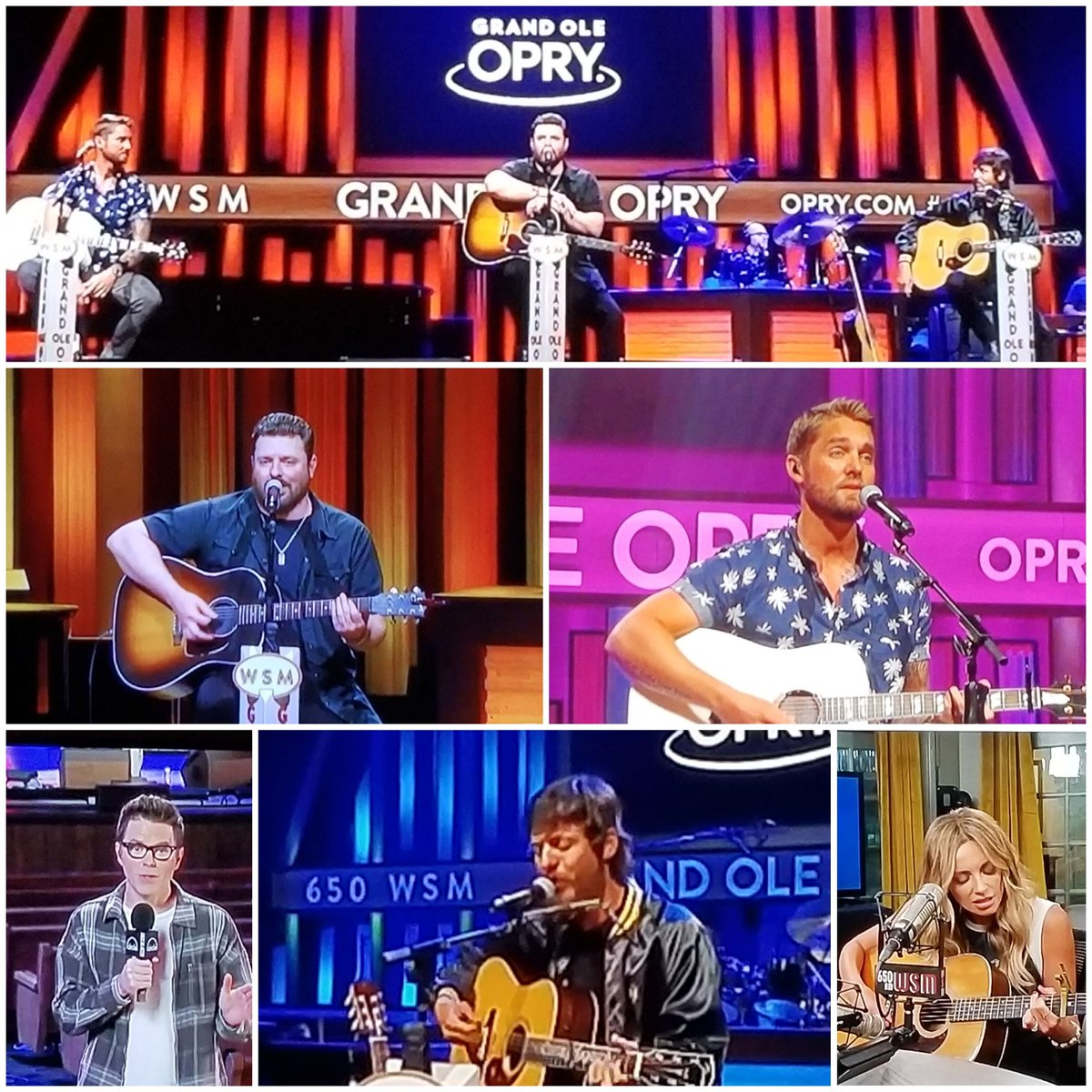 Love Saturday Night during Covid19 thanks to @opry & @CircleAllAccess! @carlypearce you started the night off 💗. Loved listening to @janson_chris @ChrisYoungMusic @BrettYoungMusic . @mrBobbyBones cant wait to see what the surprise is in a few weeks!!!! ❤🤠🎶