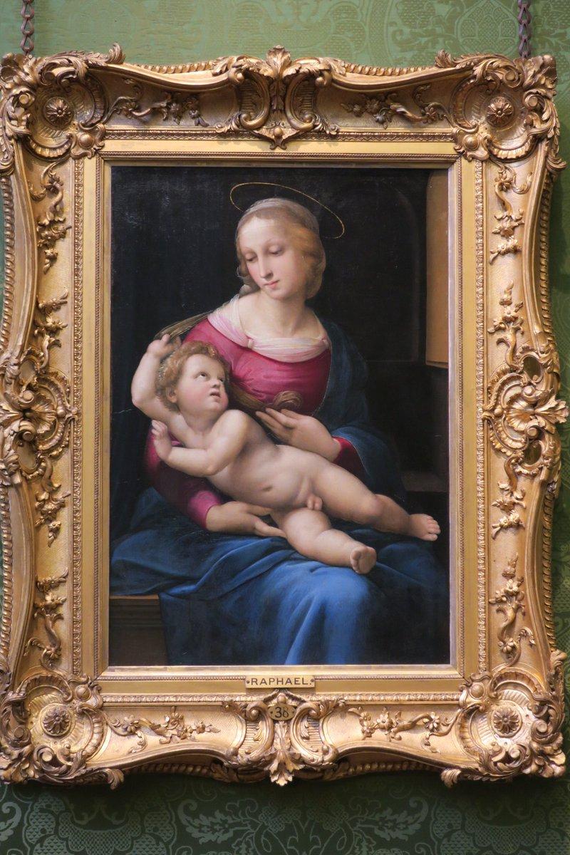 ラファエロ 聖母 子 像