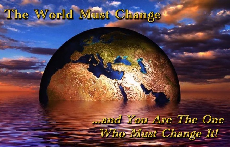 Changing yourself for the better which makes the world around you better which makes the world a better place.   #SaturdayMotivation  #ThinkBIGSundayWithMarsha  #Wisdom #Change #Peace #BeTheChange #COVID19 #GeorgeFloyd https://t.co/EBEENhs4R3