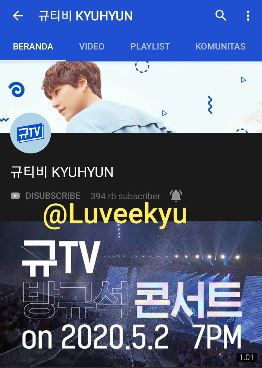 @adorekyu @GaemGyu OMG 🥰🥰. Actually I subscribe his YT channel using my 3 YT accounts. But I did SS only this one. Hopefully I can get the GA💙  #규현이와_14년_규게좋은거야 https://t.co/mYHG76NYbG