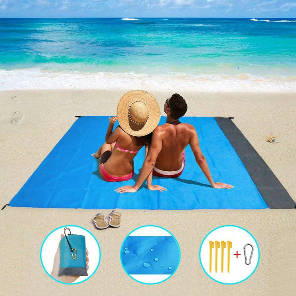 #sport #sportoutfit Camping & Hiking Equipment - 2*2M Pocket Beach Mat Picnic Tent Bedding Folding-Cover  Blanket Camping Sand-Free Waterproof Beach mat Blanket OutdoPicnic Mat Order it herehttps://s.click.aliexpress.com/e/_sWpYF2 pic.twitter.com/oip8454HNC