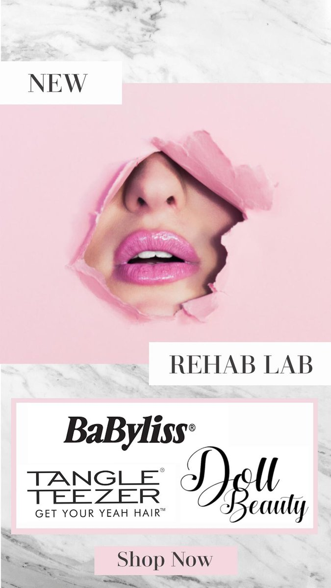 Brushes and lashes and curlers oh my⁠ ⁠ Now stocking Doll Lashes, Babyliss & Tangle Teezer at Hair Rehab!⁠ ⁠ Shop now: http://bit.ly/3cHfp1Y ⁠ ⁠ #DollLashes #Babyliss #TangleTeezerpic.twitter.com/7TEIeZXXtq