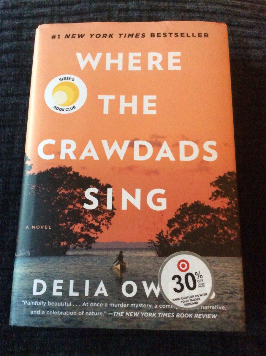 @SadiAnnMay Happy reading, Sadi! 📖💙 I'm currently reading Where the Crawdads Sing! 🤓