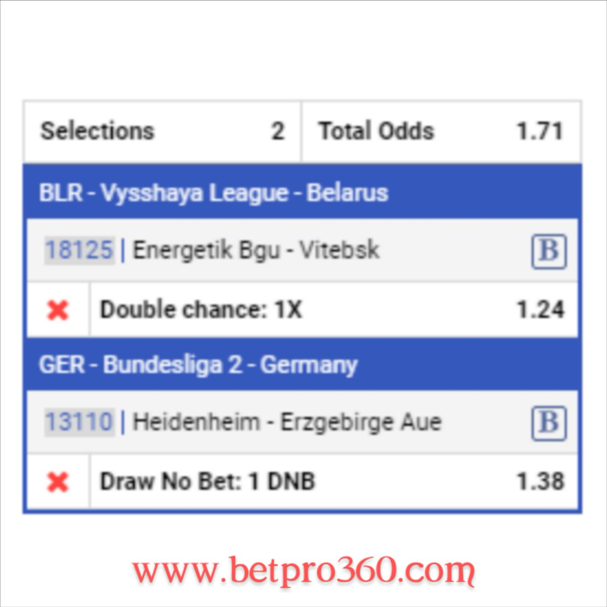 Today's FREE Tips. . . 4 sets to be played separately Football. DON'T MISS OUT!!! . Send us a DM using this link http://t.me/Betpro_360 for more FREE PREDICTION. . #betpro_360 #freetips #bettingtips #betting #bet #tipster #sportsbetting #sportsbook #gambling #tips #football #betpic.twitter.com/RSSYUpGpq0