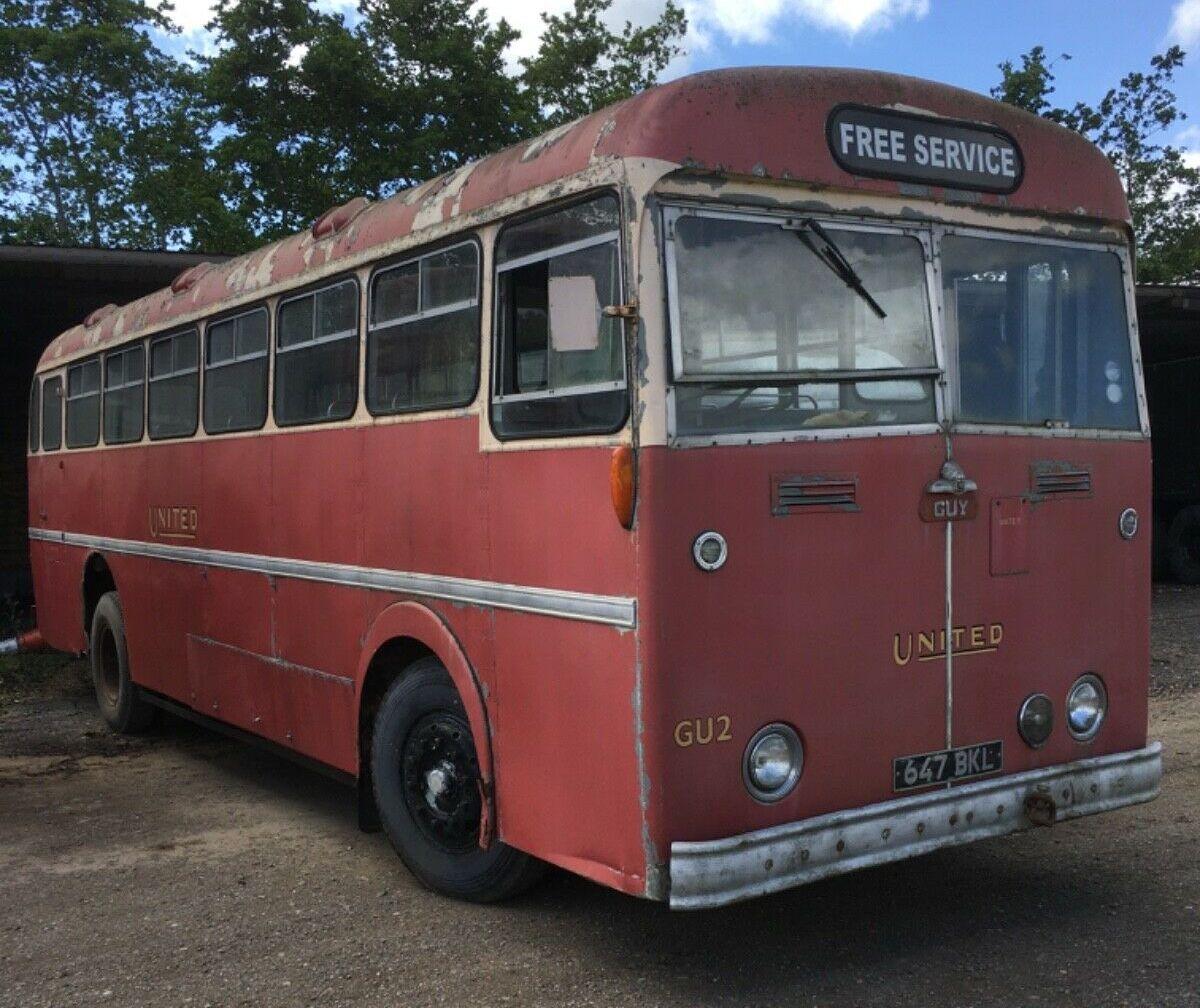 Ad - 1957 Guy Warrior Bus On eBay here -->> http://ow.ly/t9O250zUJZrpic.twitter.com/3bHyTkyGIy