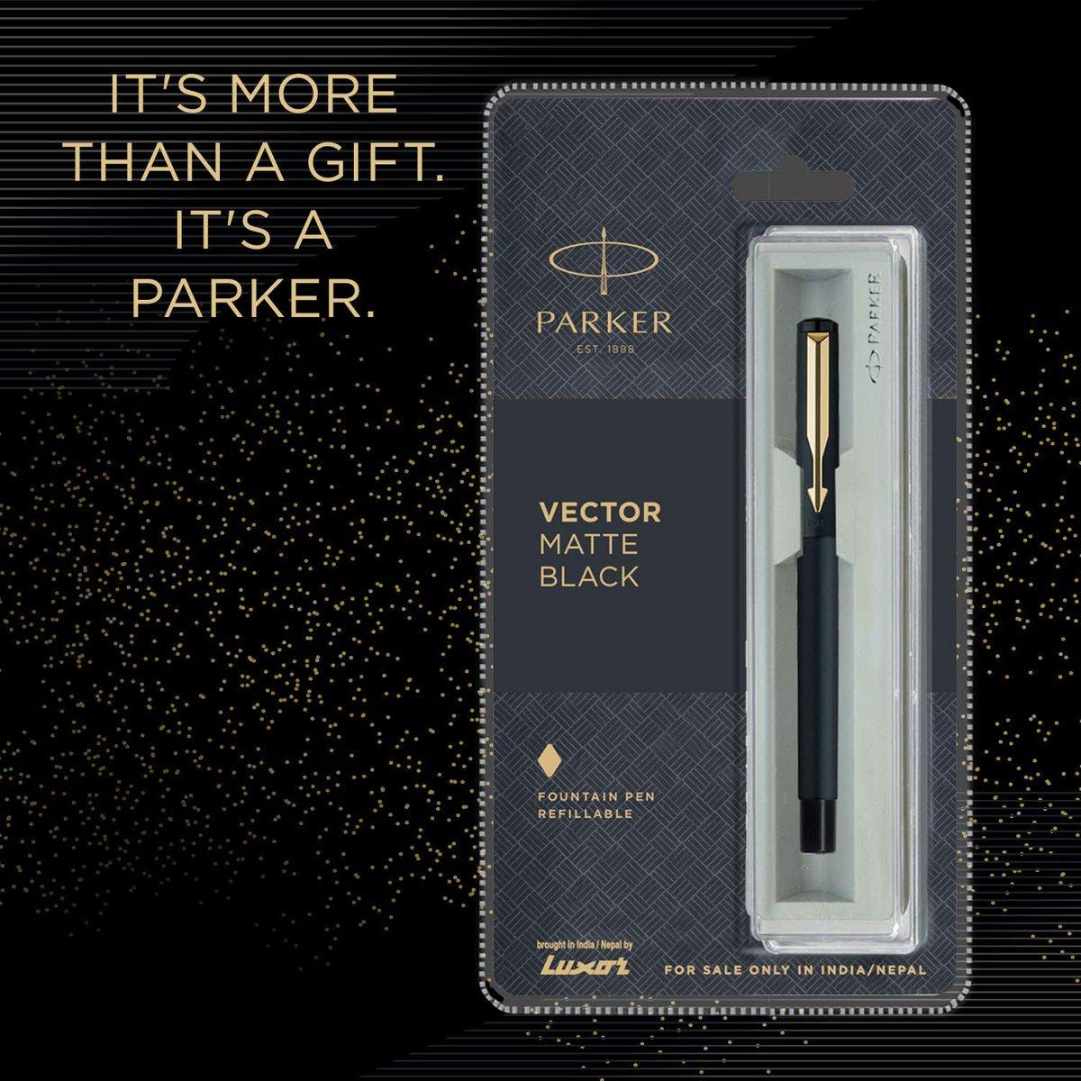 Parker Vector GT Fountain Pen  Check Price - https://amzn.to/2XMdi78  #Parker #Pen #FountainPen #InkPen #Pens #ParkerPen #Gift #Gifts #Amazon #Amazonギフト券 #AmazonDeals #amazondeal #onlineshopping #onlineshop #shoponline #shop #ShopLocal #ShopeeMY #VectorGT #Writer #Fashionpic.twitter.com/eZ7mT3XRge