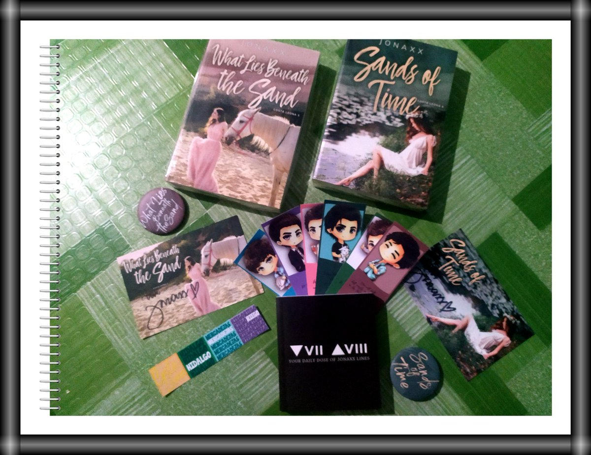 My 1st CLS books!! Panget ng pagka-flatlay (tama ba term ko? Haha)  #BooksbyJonaxx https://twitter.com/fandomlybookish/status/1266979093570097153…pic.twitter.com/8jxlAnJuKC