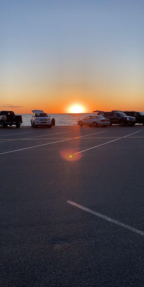 Oval Beach Sunset #LakeMichigan #Saugatuck