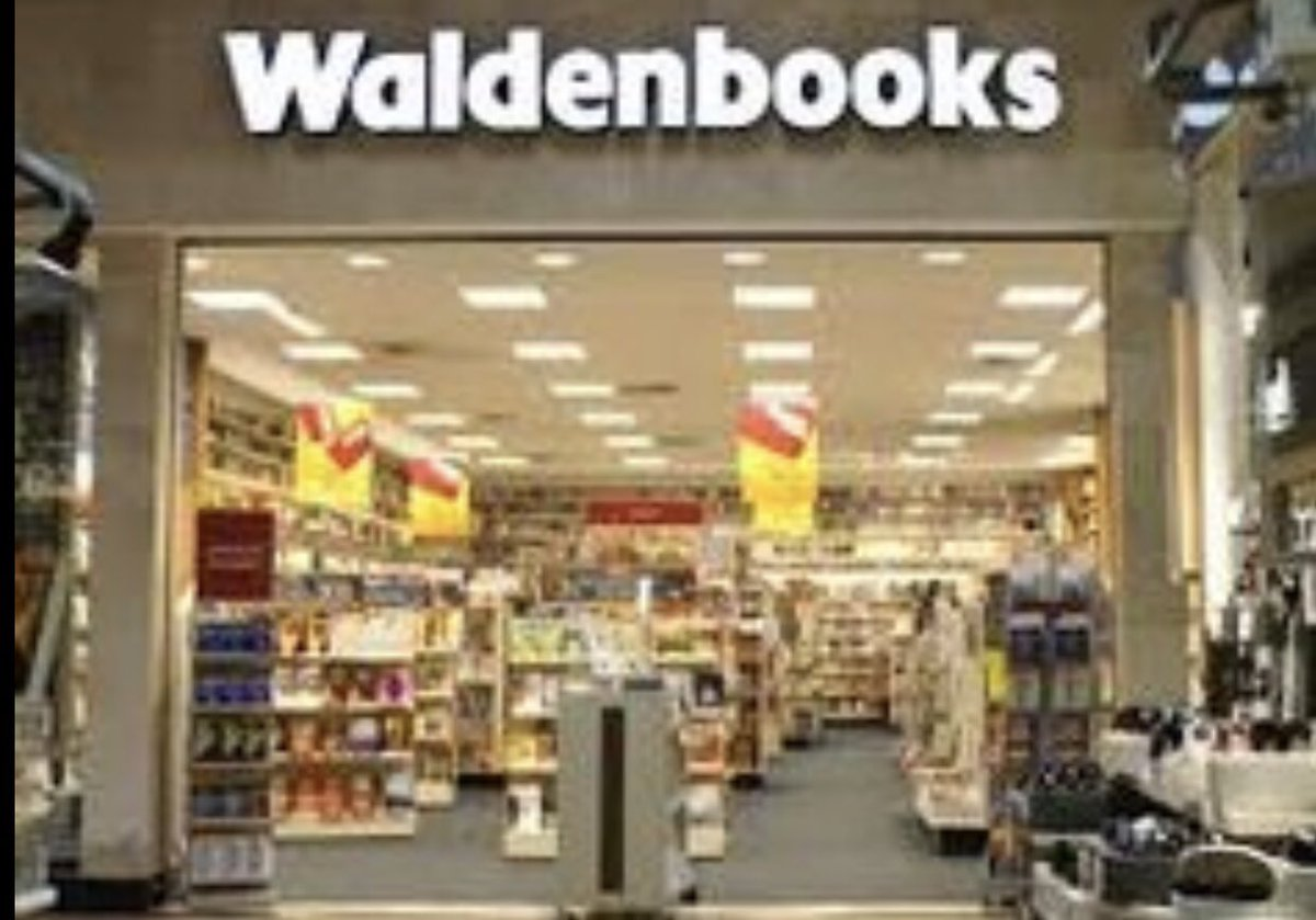 Does Anyone Remember Waldenbooks?  #Waldenbooks #BookStores #BookStore #Books #Book #Fiction #NonFiction #SciFi #Horror #Mystery #Romance #Thriller #Suspense #Novels #GraphicNovel #Magazines #Newspapers #ComicBooks #ComicBook #Comics #Comic #Art #Journal #1980s #80s pic.twitter.com/NT5AYdftE4