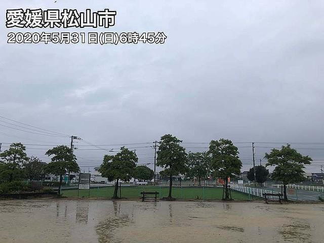【発表】四国が梅雨入り、5月の梅雨入りは13年以来きょう31日11時、高松地方気象台は四国の梅雨入りを発表。昨年より26日早く、平年より5日早い梅雨入りとなる。