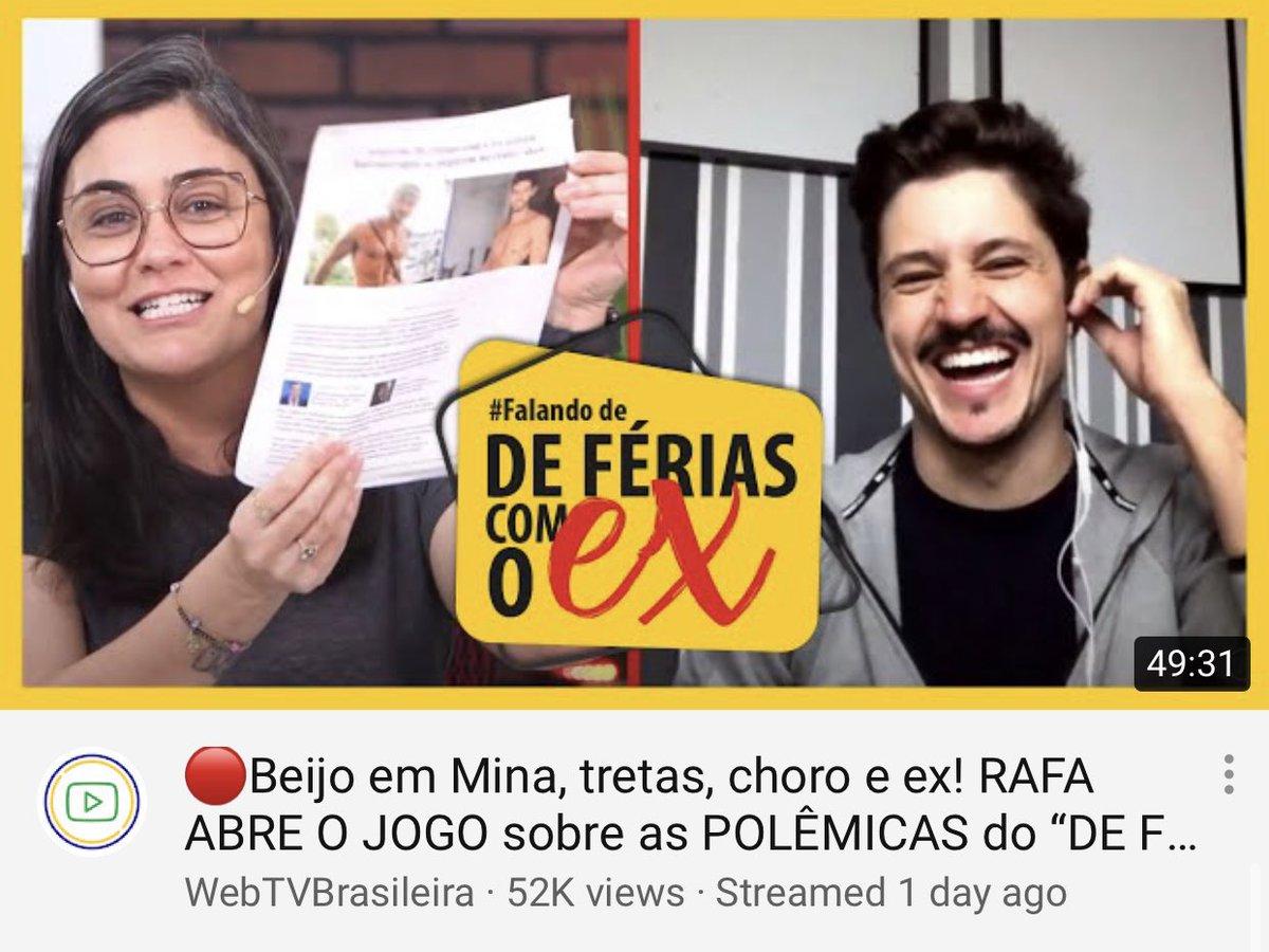 #FalandoDeDF 📛O bate-papo com o @rafavieiravoz, do DE FÉRIAS COM O EX, foi MARAVILHOSO. Confere lá: https://t.co/lMAZvt8LY1 👊🏼#defériasjeri #exnamtv #webtvbrasileira https://t.co/EOk0VdqHnP