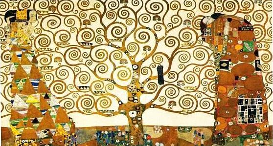 The Tree of Life, Stoclet Frieze, 1909 #austrianart #artnouveau pic.twitter.com/Z52ZXTHkxX