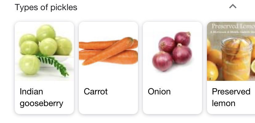 Ah, yes. My favorite type of pickle is the Carrot.pic.twitter.com/6X8IcgJApu
