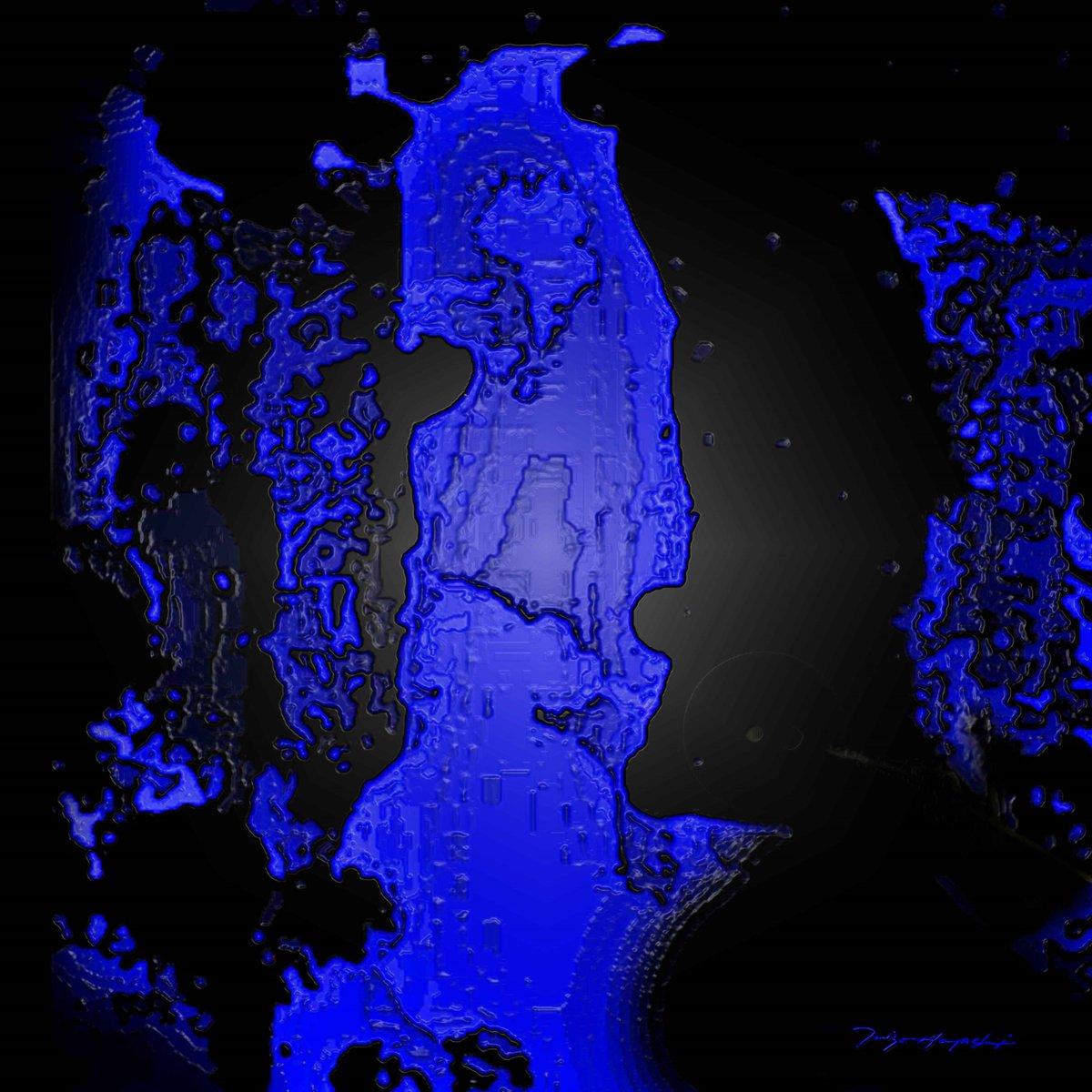 Midnight Blue - XXY ;  Taizo Hayashi ; Japan    #art #arte #abstractpainting #digitalpainting #digitalart  #contemporarypainting #contemporaryart  #絵描きさんと繋がたい #抽象画 #デジタル絵画  #デジタル #アート #絵画pic.twitter.com/Ch8PhgZTzh