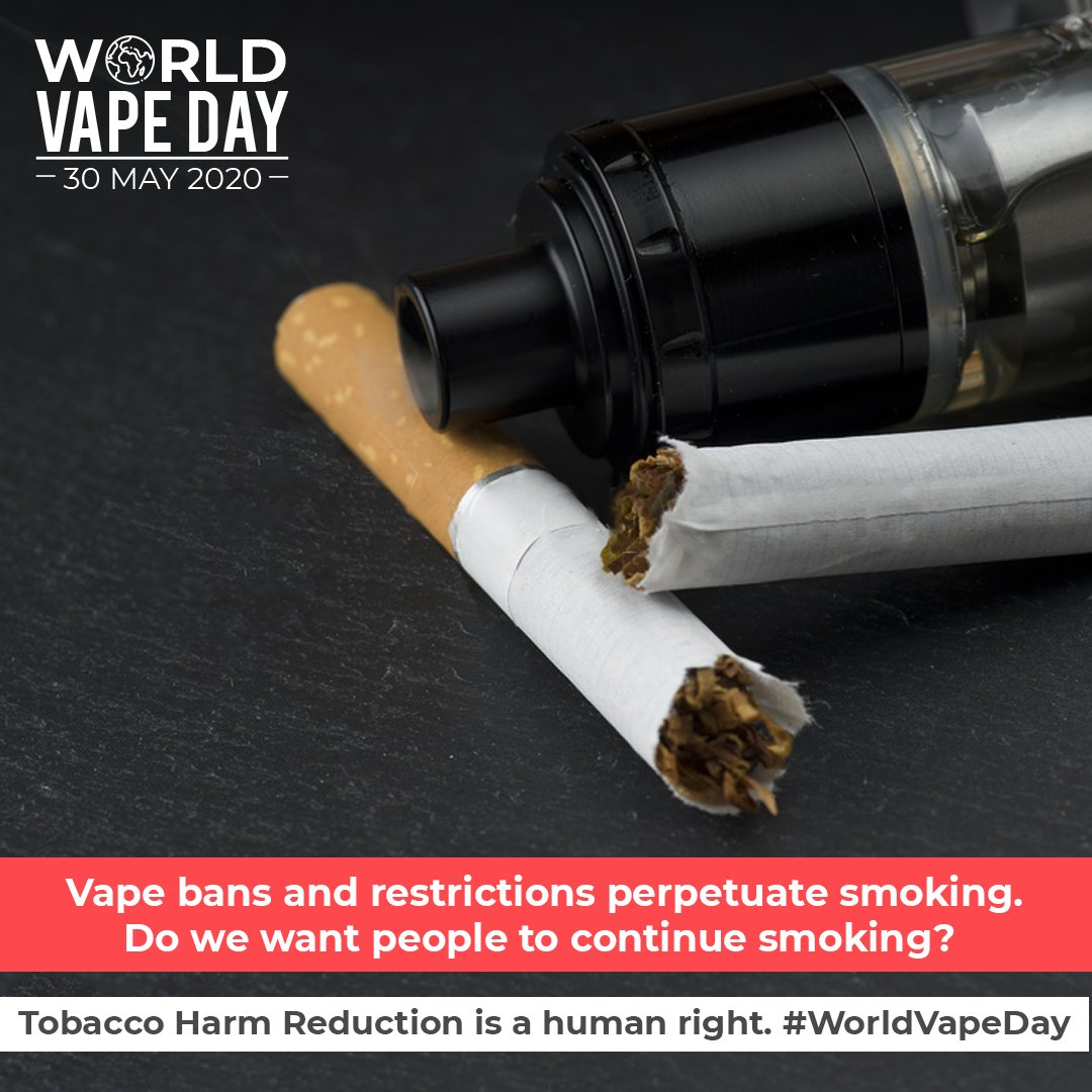 Flavoured e-liquids were invented by consumers. They are not a marketing tactic. Variety in devices and flavours empowers smokers to break free from deadly cigarettes by providing a customisable solution. Smokers are people, choice is the key to breaking free! #WorldVapeDay https://t.co/pZdgWOOPrT
