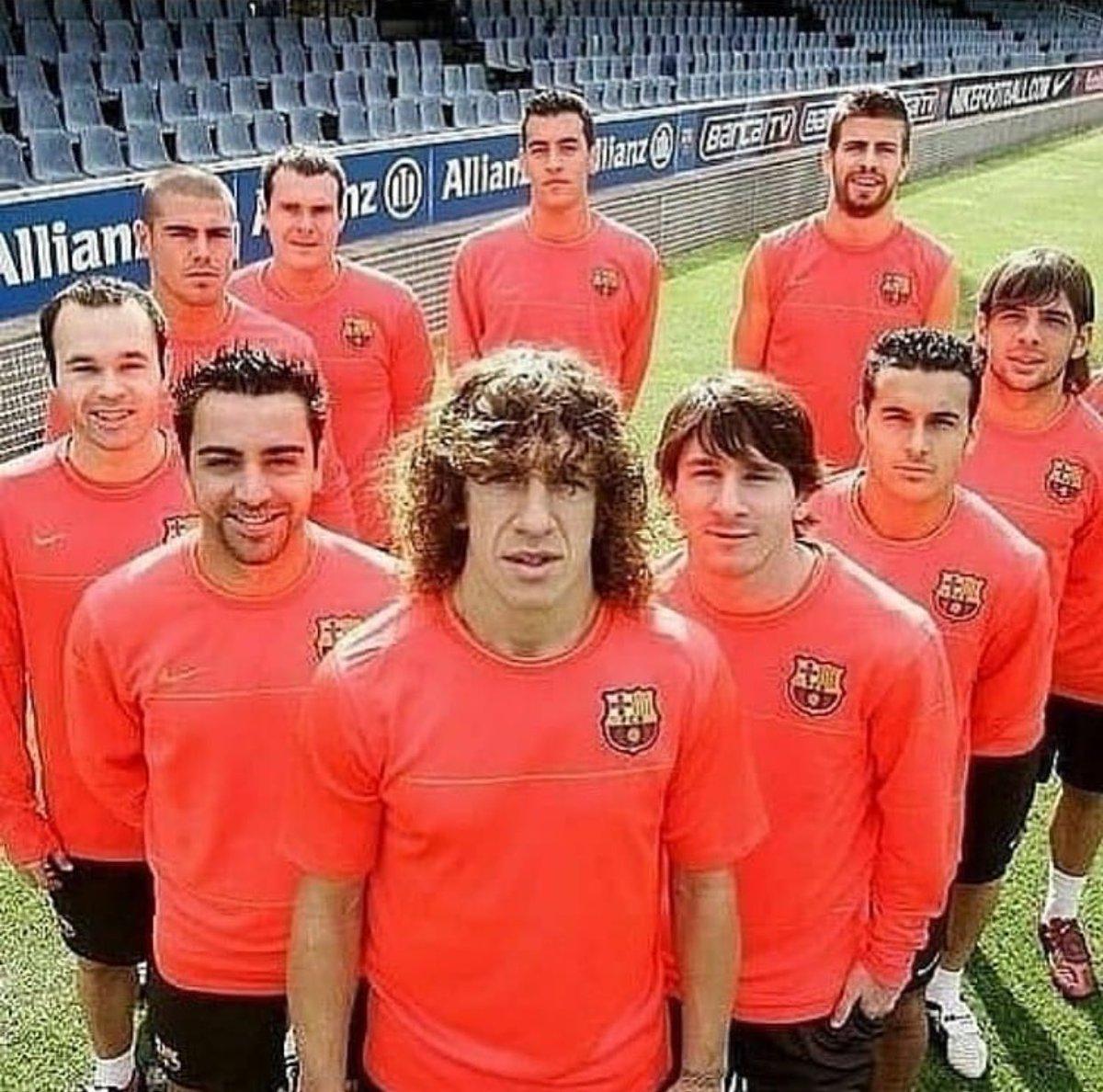 バルセロナは二度とこの豪華な世代を見ることはできない..