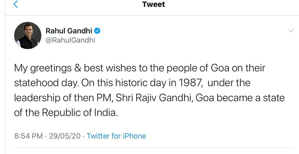 Looks Sonia Gandhi nee Antonio Maino got dementia to not remember #ZyeshthAshtami yesterday and naturally forgot to remind Priyanka Gandhi about doing Puja and pay obeisance to #MataKheerBhawani and wish Hindus of Kashmir on this auspicious occasion, as @RahulGandhi wished Goans!