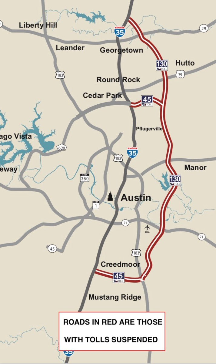 Image posted in Tweet made by TxDOT on May 31, 2020, 3:57 am UTC