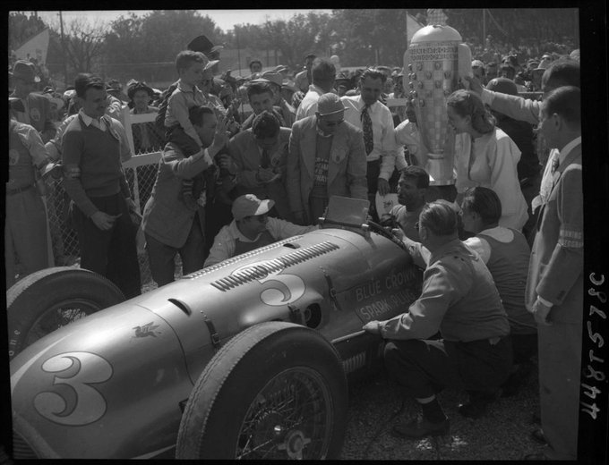 On this day in 1948, Mauri Rose won the Indianapolis 500 #Indy500 https://t.co/tOcEVEFcpN