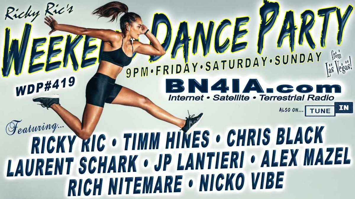#NowPlaying❗@RickyRicMix 's #WDP420 ⚡ On @BN4IA #Radio #LasVegas❗ Tune In Here ☞ https://t.co/bYZahvMEEF & https://t.co/Ac4s6bZCUM ☜ #radio #dance #trance #house #edm #DJSets #DJs https://t.co/RCKWYIf3Qp