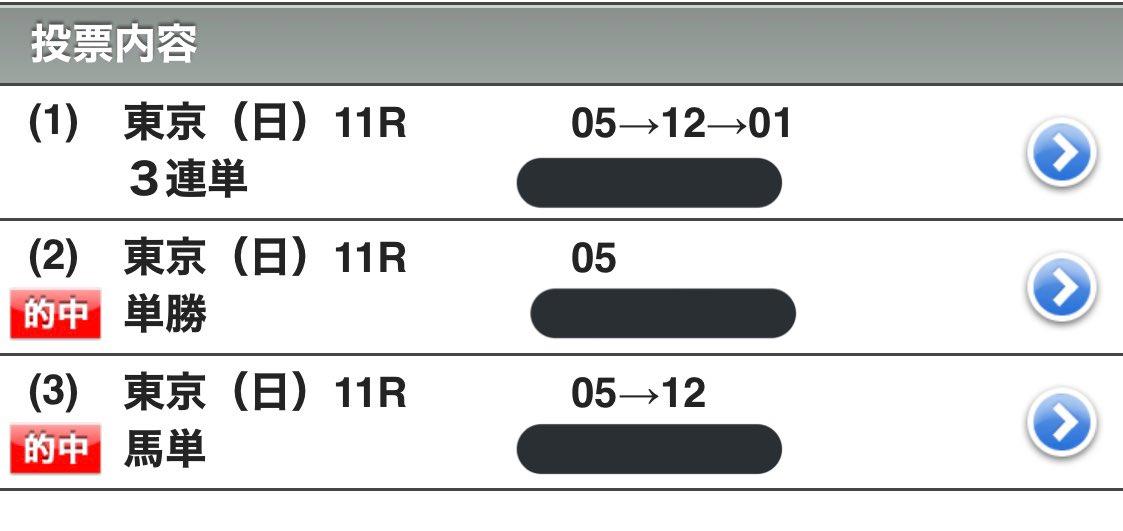 先々週のヴィクトリアマイルに賭けたくてネット登録したら間違ってオッズパークに登録してて勿体ないから地方オートレースやって楽しんでたんだけど今回ようやくJRAに登録出来たからダービーやってみたの巻🏇惜しい🥺 #日本ダービー