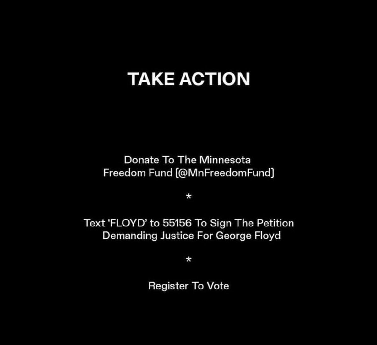 #TakeAction #ArrestAllFour #RegisterToVote #JusticeForGeorgeFlyod https://t.co/LZ6gh0sDLH