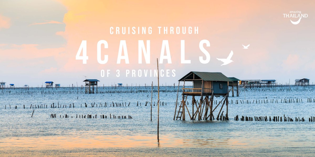 Chill out to the max at these 4 charming canal-side locations from 3 different seas. The areas of #SamutPrakan, #SamutSakhon, and #SamutSongkhram are all near Bangkok, but feel like a world away with lots of things to do and eat!    click > https://bit.ly/3dlRzcP pic.twitter.com/W8Ndp9y5i0