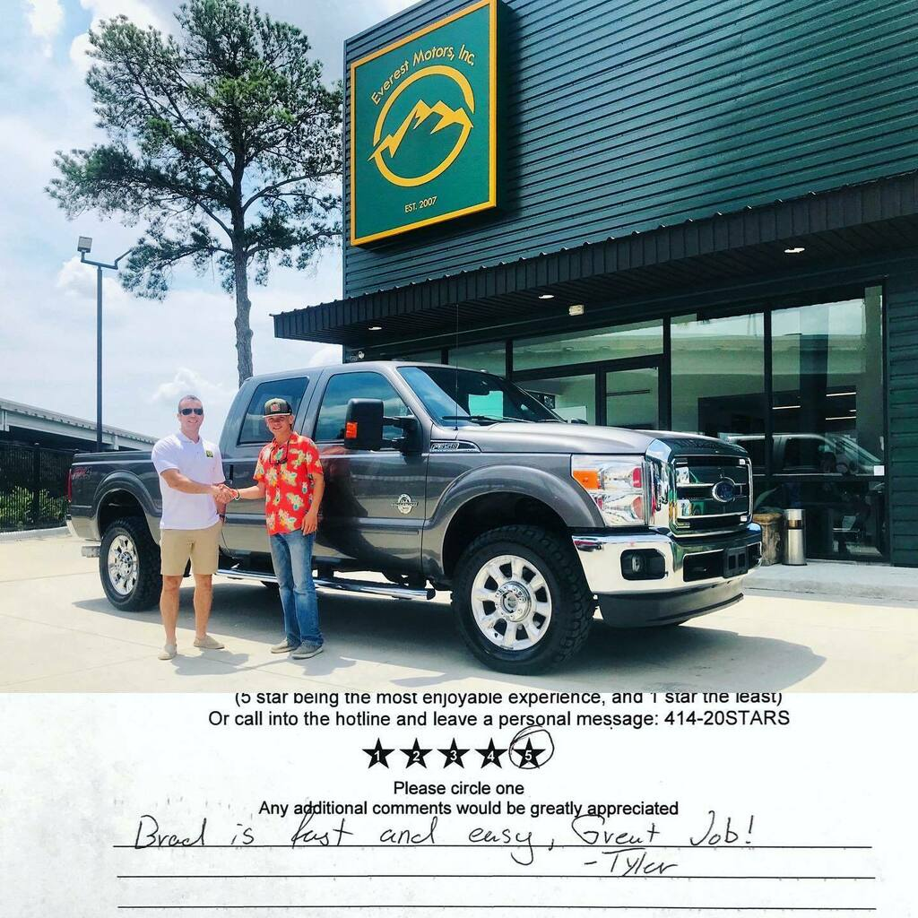 2014 Ford F-350 Crew Cab Lariat Long Bed 4x4 6.7L Powerstroke Diesel sold and gone. Thank you Tanya for coming to us and welcome to Everest Motors family. https://ift.tt/2I7w8iQ #everestmotors #houstontx #needvilletx #greytruck #fordf350lariat #fordf35… https://instagr.am/p/CA1t5PhhOGc/pic.twitter.com/U9SZBjW9rO