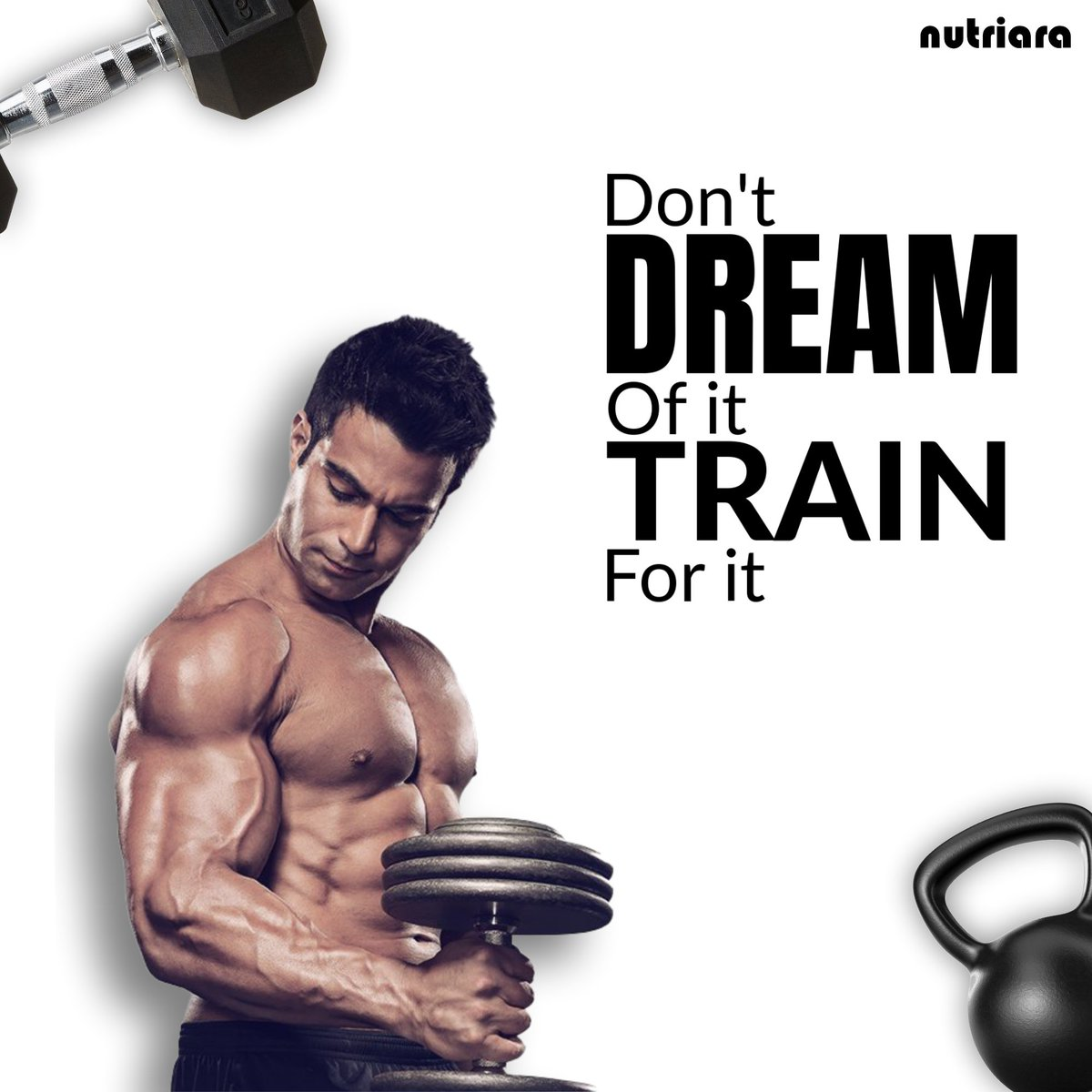 Don't just dream of it, train for it. . #nutriara #muscle #shredded #abs #gymlife #aesthetics #physique #fitnessmodel #bodybuilder #gains #strong #dedication #beastmode #cardio #body #fitnessmotivation #muscles #exercise #flex #strength #trainhardpic.twitter.com/soJ0cPgFqb