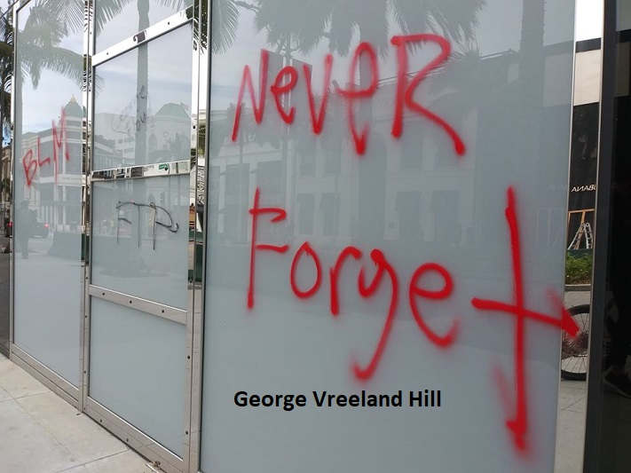 Rodeo Drive in Beverly Hills.  Photo by,  George Vreeland Hill  #BlackLivesMatter #GeorgeFloyd #JusticeForGeorgeFloyd #LosAngelesriots #NeverForget #GeorgeVreelandHill https://t.co/Mquj5Pjdu3