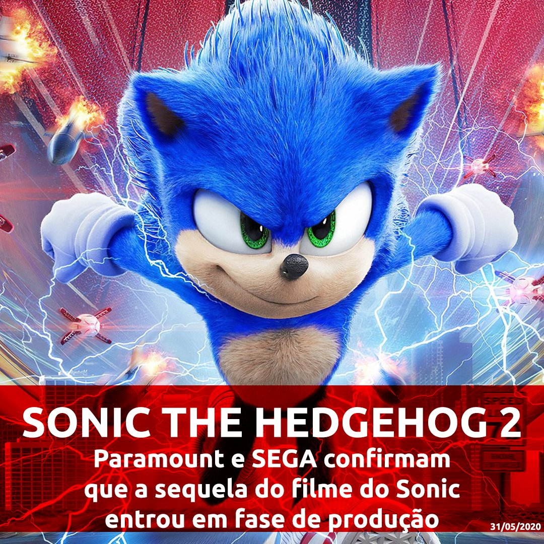 Paramount e Sega confirmam que a sequela do filme Sonic The Hedgehog entrou em fase de produção com o mesmo realizador e guionista. . . . . #sonicthehedgehog #sonic #sega #sonicmovie #sonicthehedgehogmovie #videogames #tailsthefox #sonicadventure #gaming  #sonicteam
