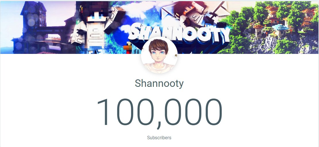 Shannooty - We hit 100k 🥳 Thank you all <3