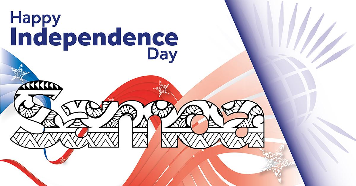 Happy #IndependenceDay #Samoa!