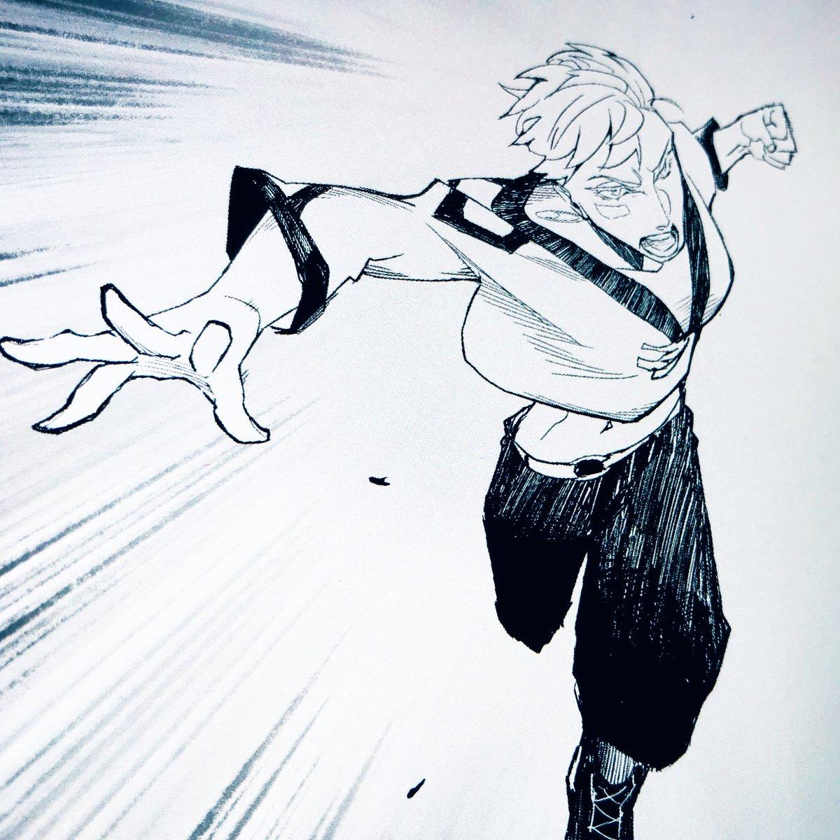It's a pleasure to draw a strong woman oc. She's a badass #comic #manga #LINEマンガ #precreate #digital #art #イラスト #マンガ pic.twitter.com/kRtB0FVwsS