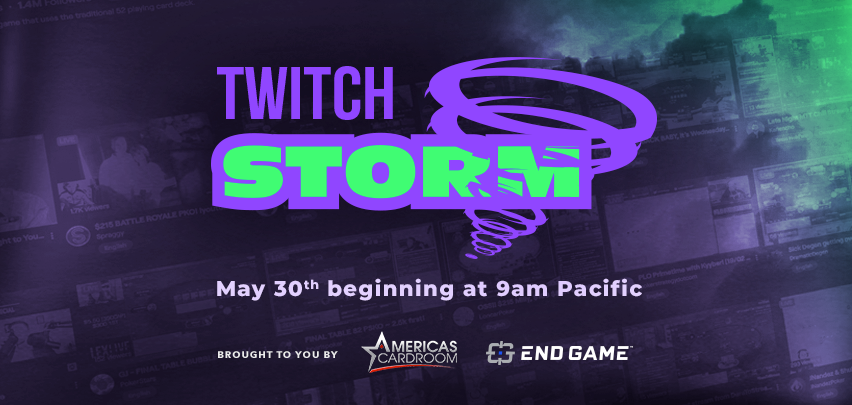 It's not too late to join the Storm! head to endgametalent.com/twitchstorm #TwitchStorm