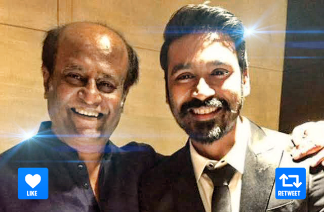 Vote for your favourite star! Comment if you want to see them together!  #DHANUSH_RulerOfKollywood #JagameThandhiram #5DecadesOfSuperstarRAJINI <br>http://pic.twitter.com/656seIoVO1