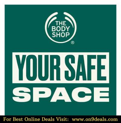 Thebodyshop Flat 30% Discount + Extra 5% Discount + Free Samples