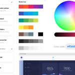 Image for the Tweet beginning: #changelog New Powerup: Color palettes.Choosing