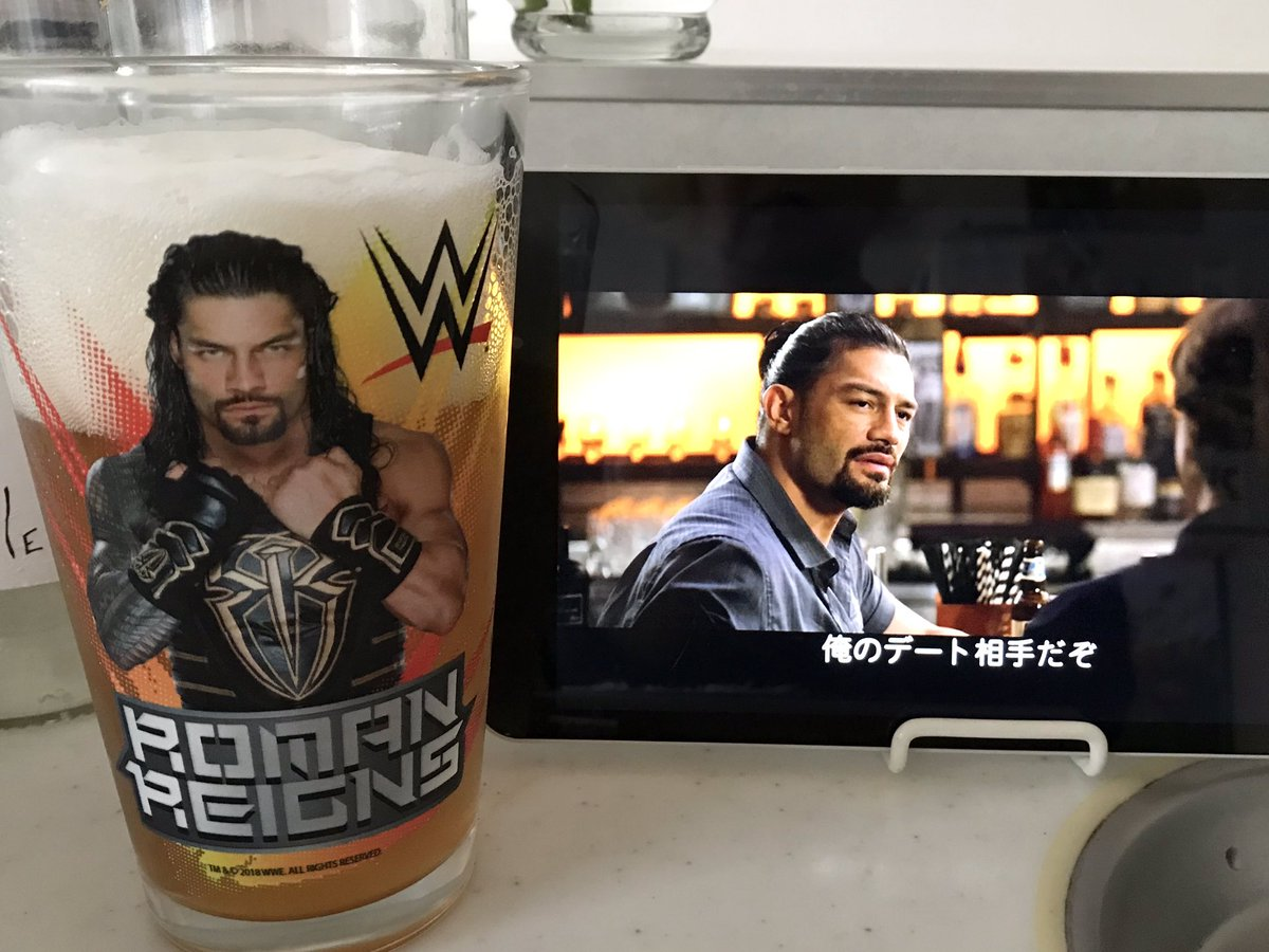 BEER TIME  I'm watching THE WRONG MISSY again  @WWERomanReigns #Tokyo #myhero #RomanEmpire pic.twitter.com/6bK4Esg1UB