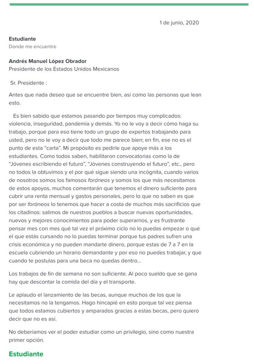 Con el fin de exponer la situación a @lopezobrador_ hago mención de lo siguiente: https://t.co/hYMQLtYoVR