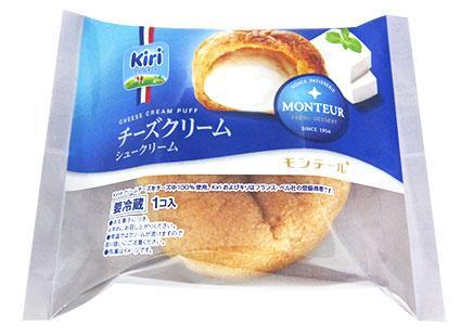 【おいしそう】「Kiri」のチーズスイーツ、モンテールから再び登場!「チーズクリームシュークリーム」「チーズクリームエクレア」の2種。6/1から全国のスーパーで発売されます。