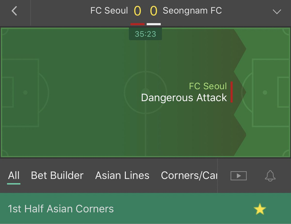 South Korea    Over 2.5 fh asian corners     Stake - 1.5 unit   Let me know if you are on    #Inplay #Korea pic.twitter.com/I4e63M1YXM