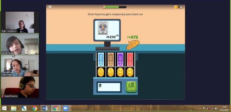 İleri Düşünme Teknikleri dersinde bu hafta 5. sınıflarımızla @mentaluptr uygulaması üzerinden Hızlı Kasiyer 2, Otopark ve Kesirli Tahta oyunlarını oynayarak Kıyaslama yapma, görsel tarama becerilerimizi geliştirdik. @BaharBrbr @DuyguPeran  @BK_Luleburgaz https://t.co/xldTbJmk2z