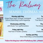 Image for the Tweet beginning: Today @emthebookworm is closing #TheRailwayGirls