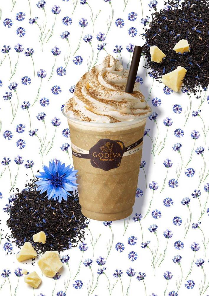 ゴディバ「ショコリキサー ホワイトチョコレート アールグレイ」優雅な紅茶香るひんやりドリンク -