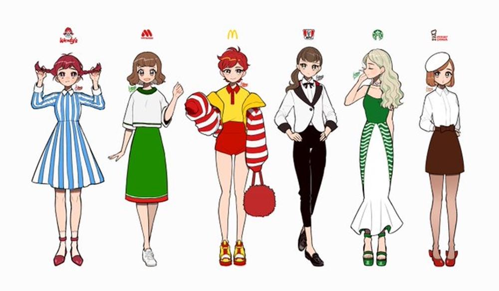 こんなおしゃれなお寿司初めて見た……!「Suica」「ICOCA」に「モス」「マック」 企業・ICカード・ゲーム機などをイメージしたファッションがナイスデザイン  @itm_nlabより