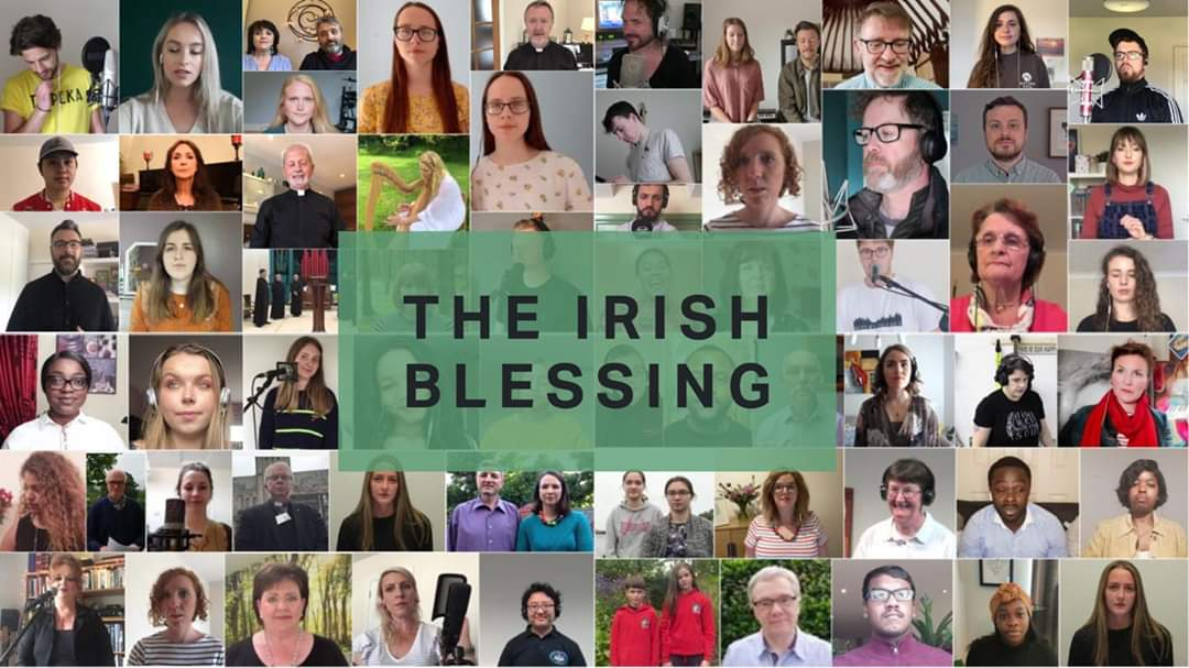 The Irish Blessing video premiered on YouTube this morning - over 300 churches and ministries from our island are represented     -- you can still watch the video here -   https://t.co/k0AA7hlYrp  #TheIrishBlessing https://t.co/rCitTQcSBS