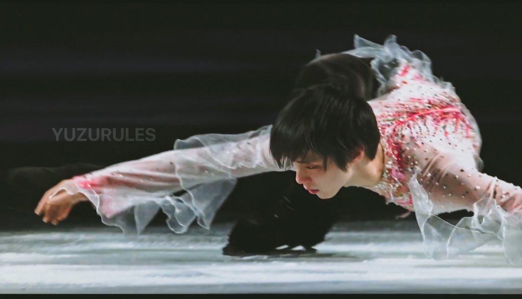 Screenshot of #WorldFigure 2019 Gala   #YuzuruHanyu #羽生結弦<br>http://pic.twitter.com/B7qTpAKiXr