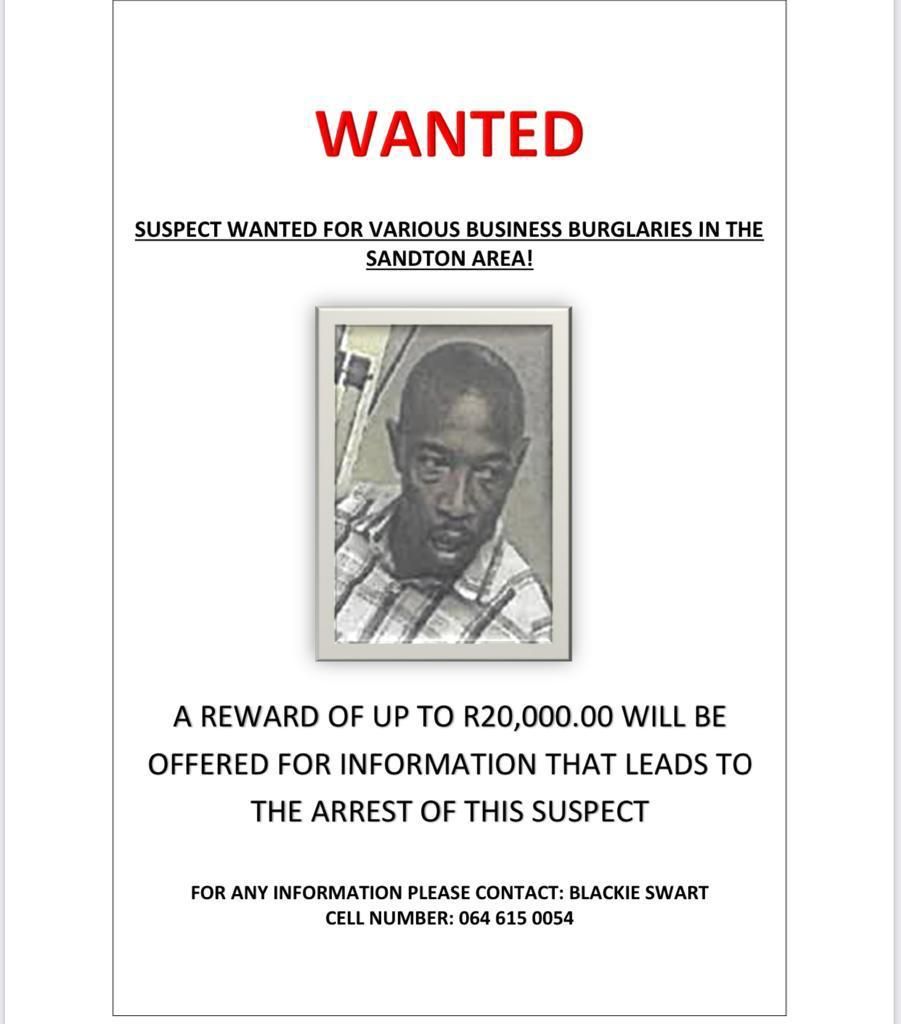 WANTED : dangerous chap DM also if you found him.